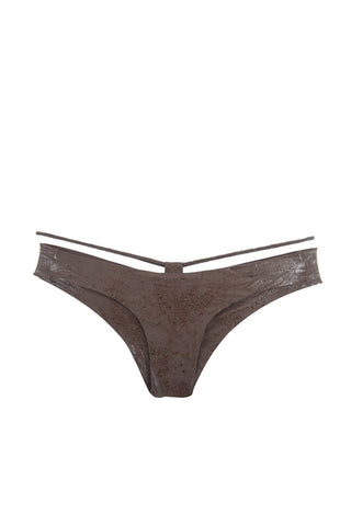 FLORDEPIEL Mila Bottom Bikini Bottom | Chocolate|