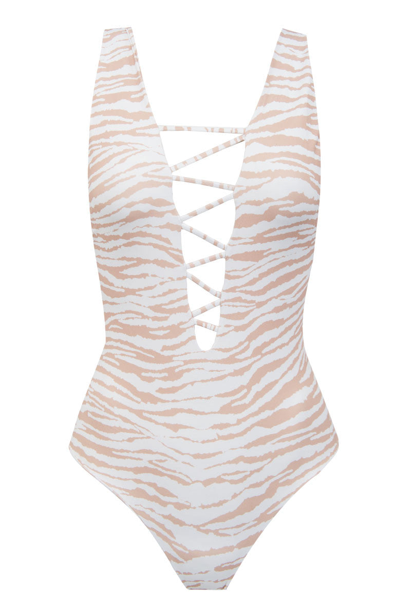 Rainey One Piece - White Tiger