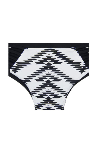 KHONGBOON Indre Bottom Bikini Bottom | Black and White/Black| Khongboon Indre Bottom