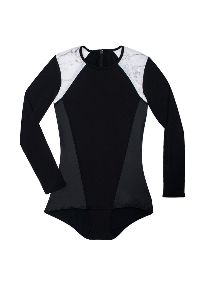 Selene Surf Maillot One Piece Swimsuit - Onyx