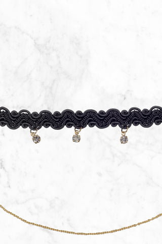 BIKINI.COM Double Layer Choker Jewelry | Double Layer Choker