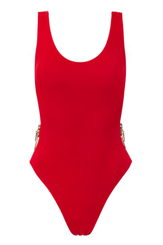 OYE SWIMWEAR Zissou One Piece One Piece | Red|
