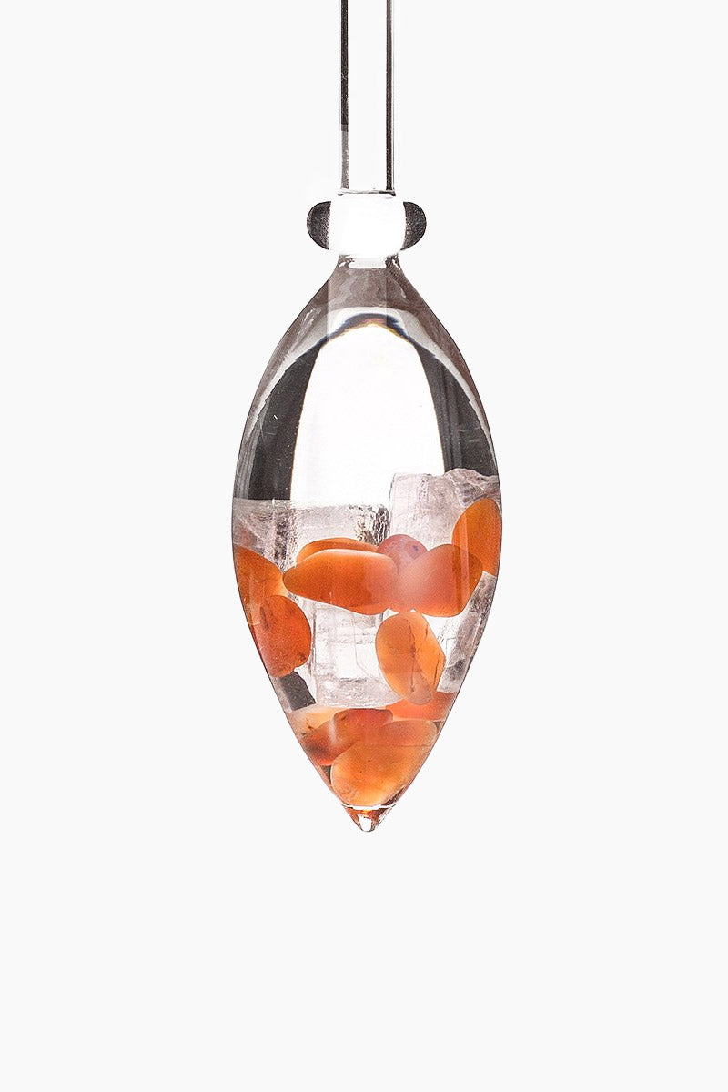 Passion Gemstone Vials - Carnelian/Halite Salt