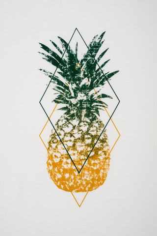 Bikini.com Women's Pineapple T-Shirt Cover Up | Pineapple|