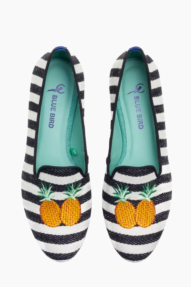 Pineapple Loafer - Black And White