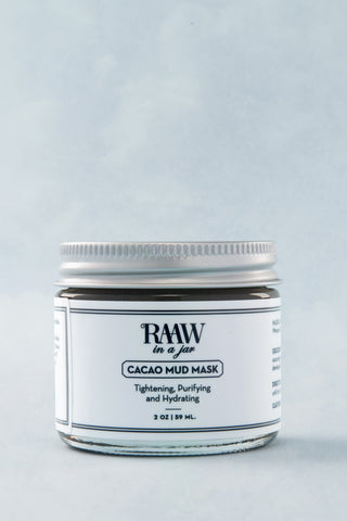 RAAW IN A JAR Mud Mask Beauty | Mud Mask
