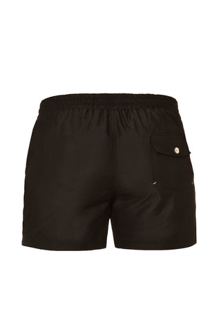 J.LIN Runner Shorts Swim Shorts | Graffiti Black/White