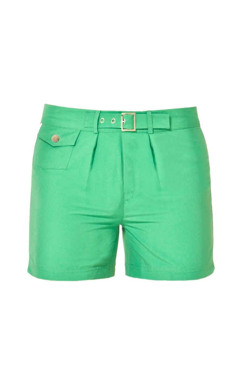 J.LIN Sailor Shorts Swim Shorts | Crisp Green|