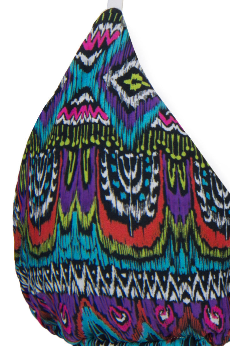 SANS SUCRE Infinity Top Bikini Top | Nomad Print|