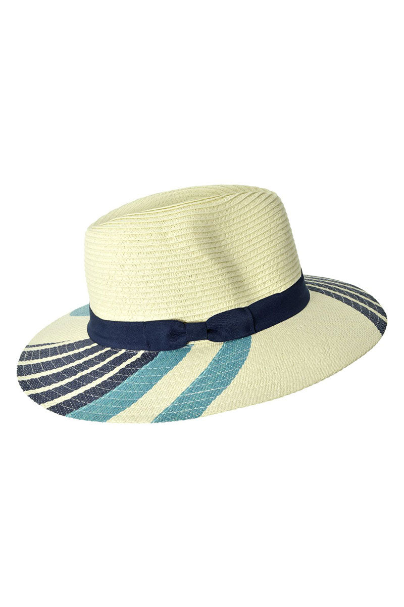 Fedora - Blue Stripe