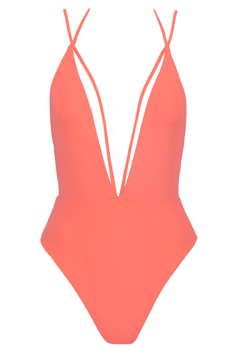 SIEMPRE GOLDEN Trestles One Piece Swimsuit
