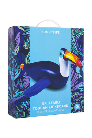 SUNNYLIFE Inflatable Toucan Kickboard Accessories | Toucan|Inflatable Toucan Kickboard