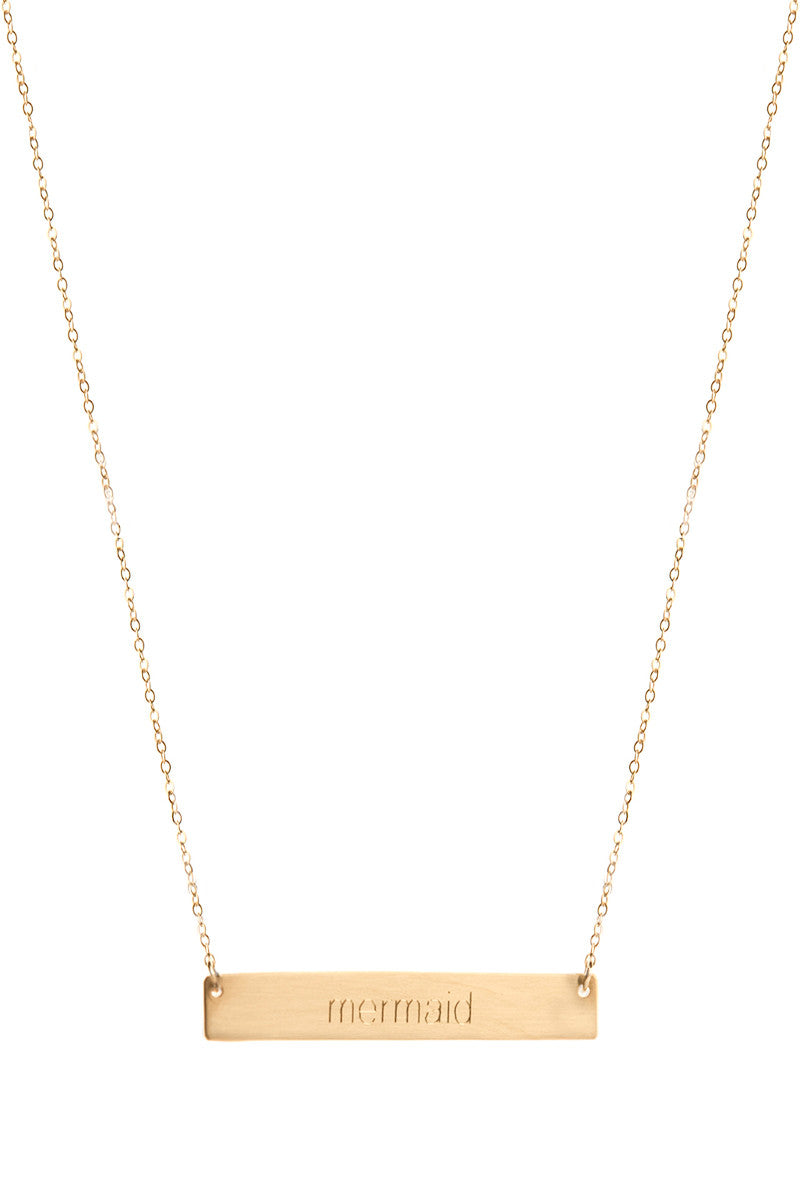 THATCH Mermaid Necklace Accessories | Gold|
