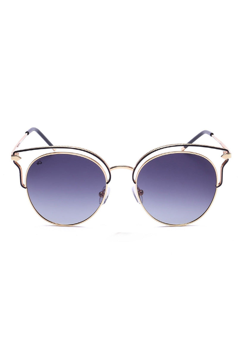 The Heartbreaker Unisex Round Cat Eye Sunglasses