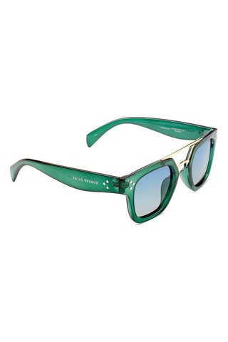 PRIVE REVAUX The Foxx- Green Sunglasses | Green| Prive Revaux The Foxx- Green