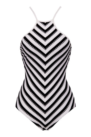 SEAFOLLY Coast To Coast One Piece One Piece | Black & White|