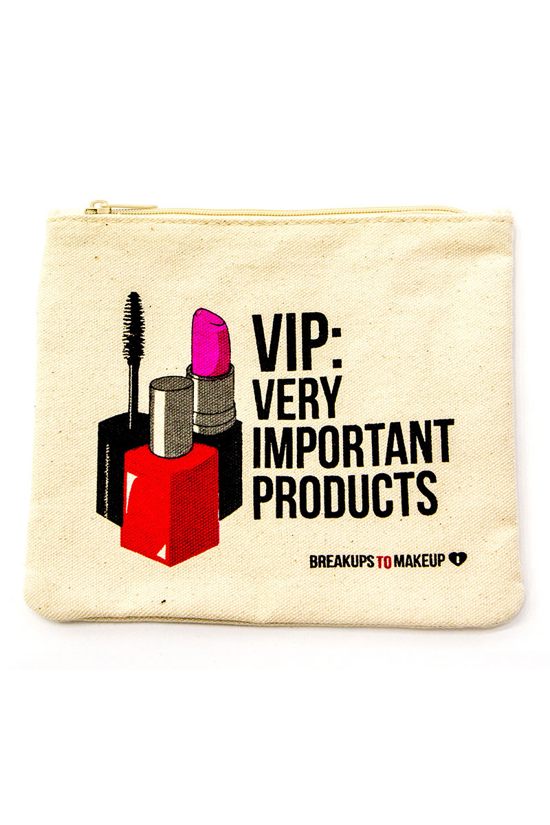 Vip: Very Important Products Makeup Clutch - Tan