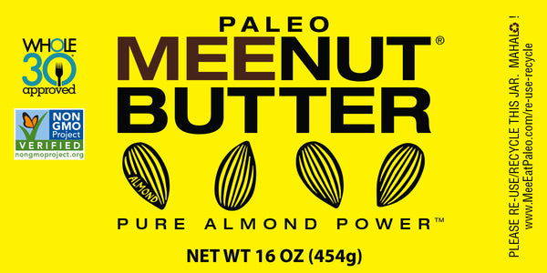 Pure Almond Paleo MeeNut® Butter