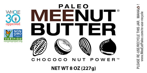 ChoCoco Nut Paleo MeeNut® Butter
