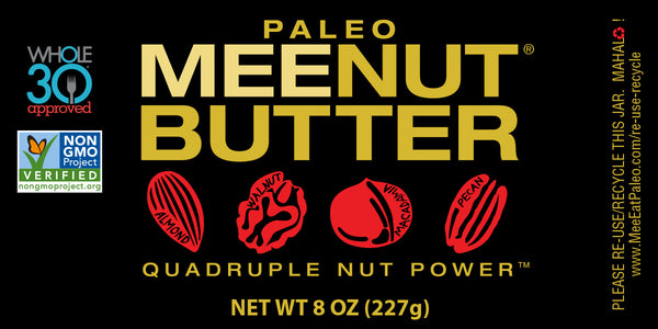 Quadruple Nut Paleo MeeNut® Butter