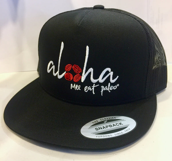 Aloha Mee Eat Paleo Trucker Hat
