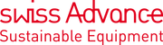 Swiss Advance  Sustainable Equipment - Red Logo