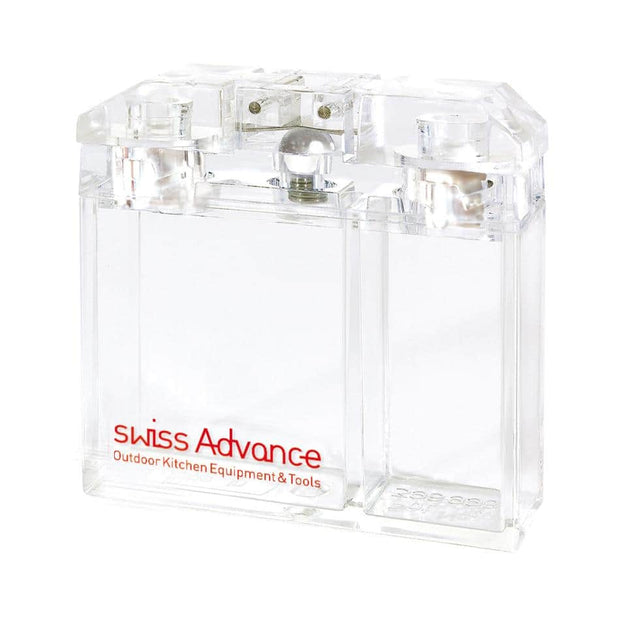 ARCTO Salt and Pepper Shaker Spice Shaker- Swiss Advance - zero waste packaging - sustainable design