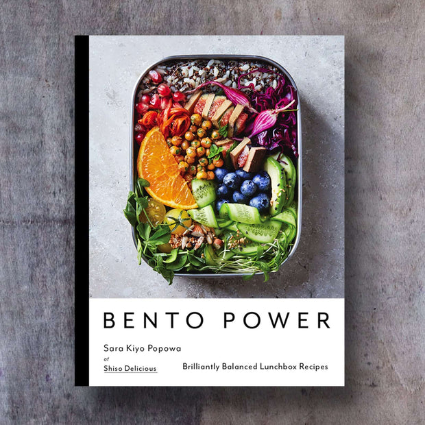 BENTO POWER Lunch Box Recipes Accessory- Swiss Advance - zero waste packaging - sustainable design