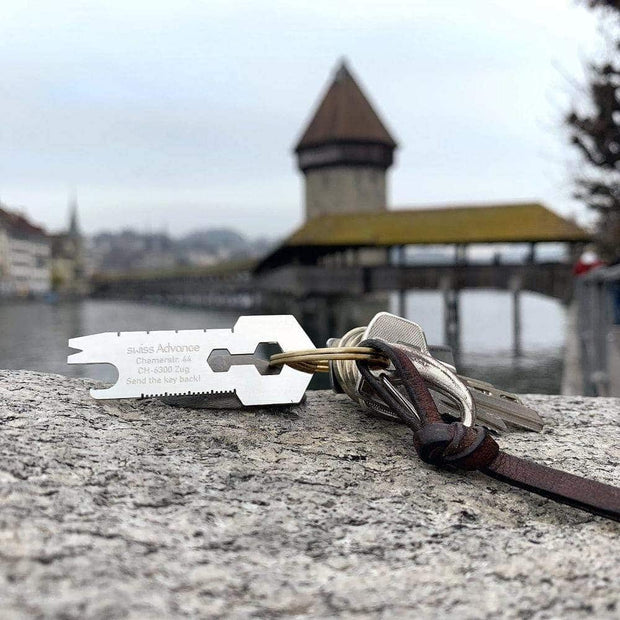 CRONO KEY Multi Tool Multi Tool- Swiss Advance - zero waste packaging - sustainable design