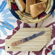 EMI Bamboo Cutting Board Natural Tableware- Swiss Advance - zero waste packaging - sustainable design
