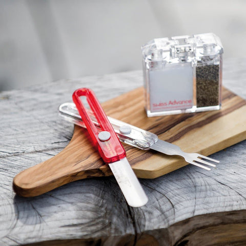 HIPPUS Cutlery Knife & Fork Cutlery- Swiss Advance - zero waste packaging - sustainable design
