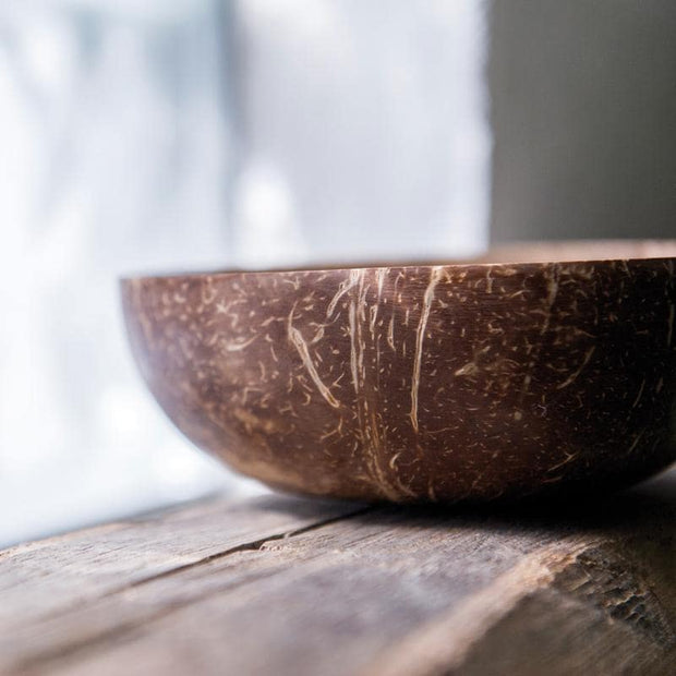 MONO Coconut Bowl Natural Tableware- Swiss Advance - zero waste packaging - sustainable design