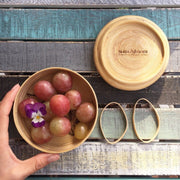 PHORA Bamboo Bento Box Natural Tableware- Swiss Advance - zero waste packaging - sustainable design