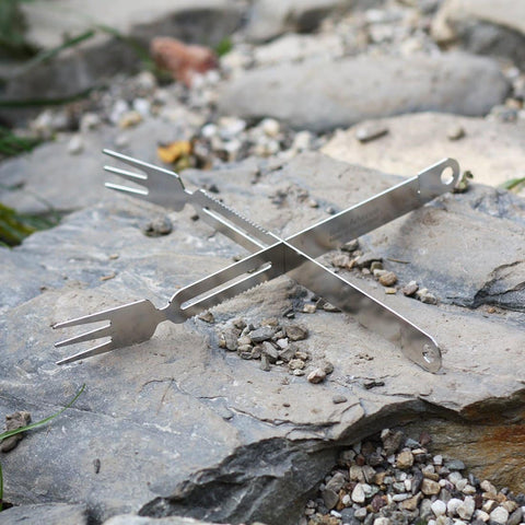 SAIGA BBQ Tongs & Forks Large BBQ Tool- Swiss Advance - zero waste packaging - sustainable design