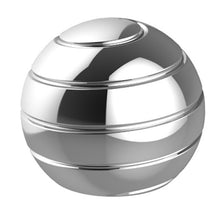 Stainless Steel Sphere Desk Spinner