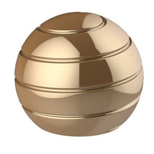 Yellow Gold Sphere Desk Spinner