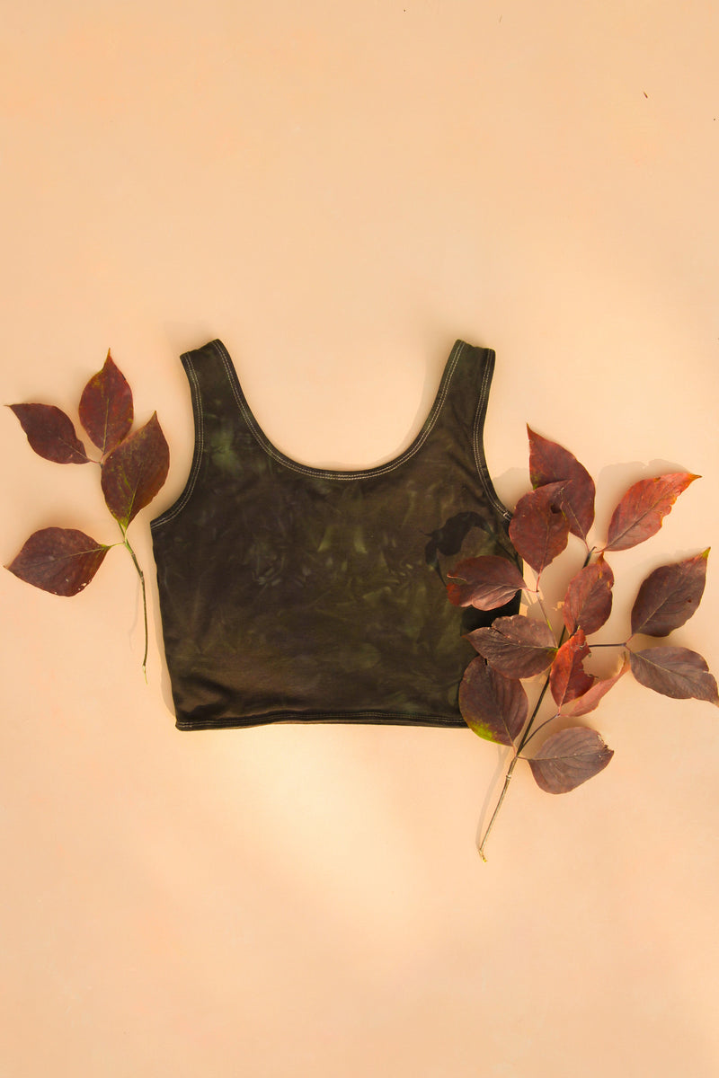 Shadow Magick Forest Fiber Bra Top