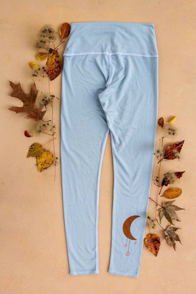 Moon Drops Forest Fiber Leggings