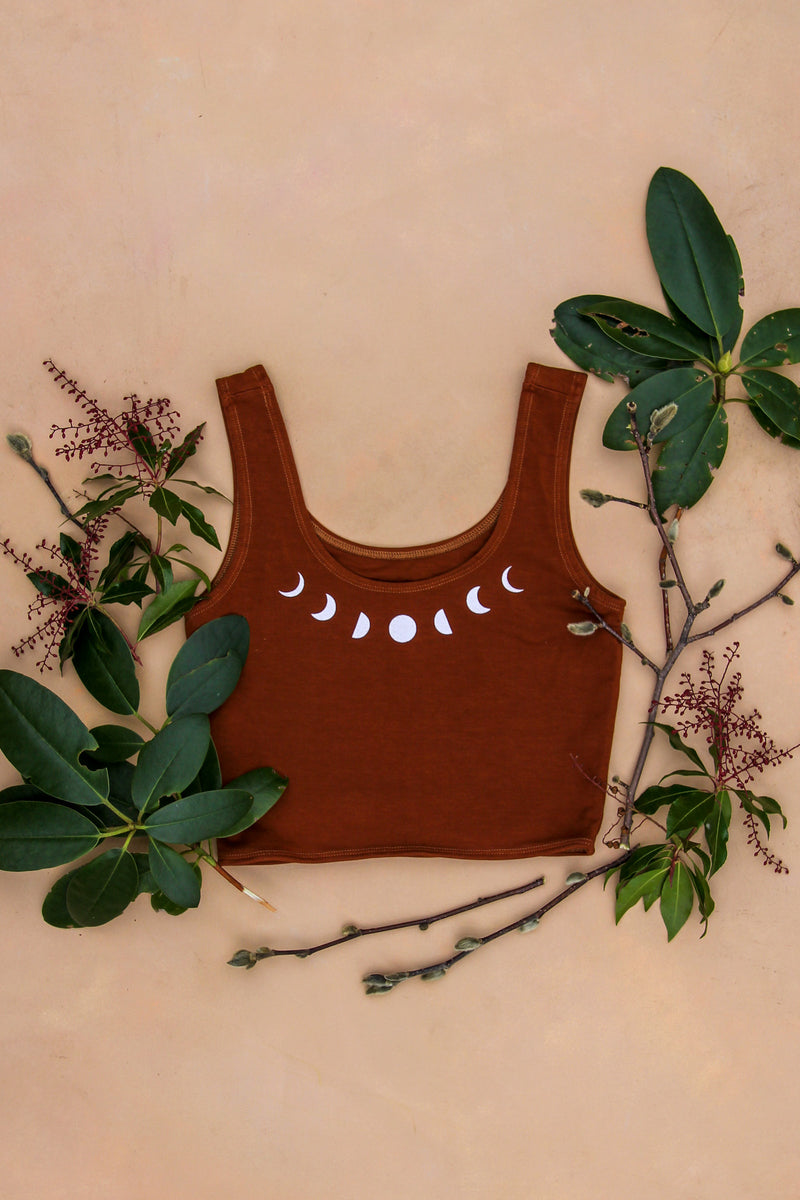 Redwood Moon Eucalyptus Yoga Bra Top