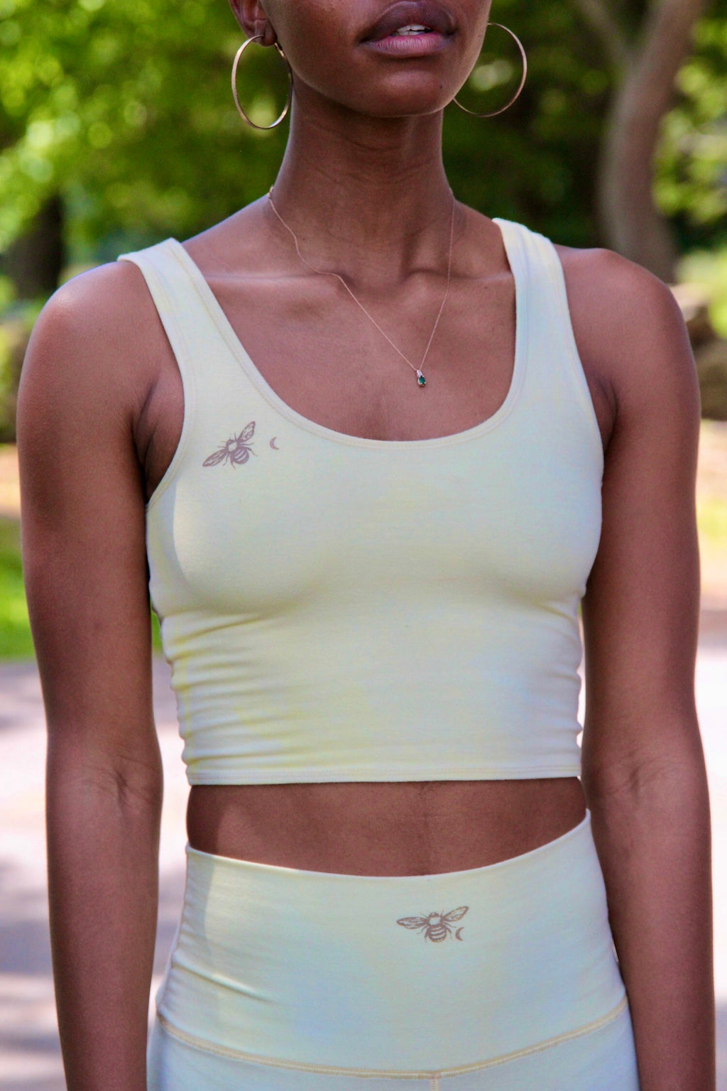 Moon Bee Eucalyptus Yoga Bra Top