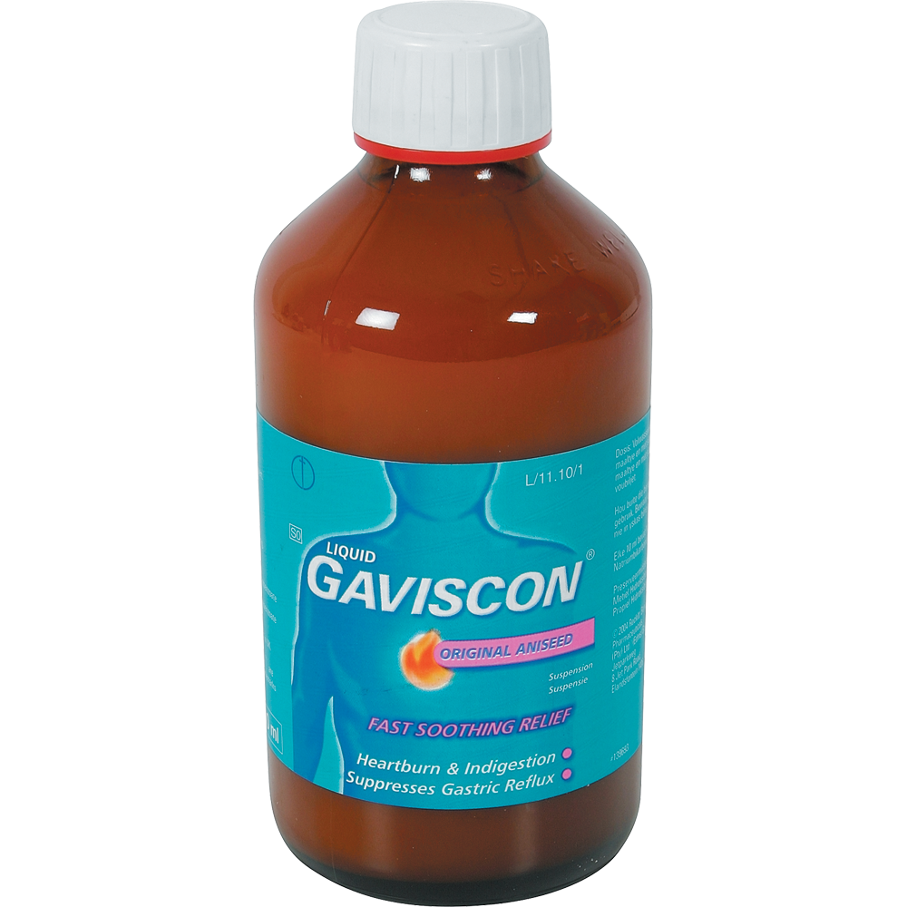Gaviscon Original Aniseed Liquid 600 ml