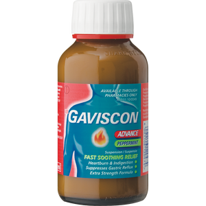 Gaviscon Advance Peppermint Liquid 200 ml