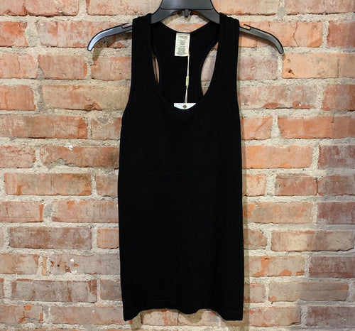 Bamboo Racer Back Ribbed Tank