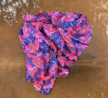 Load image into Gallery viewer, Purple & Pink Paisley Wild Rag