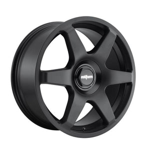 "Rotiform SIX - 18"" Matt Black Finish 8.5J Alloy Wheels"