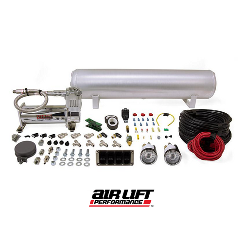 Air Lift 27666 - 4 Way Paddle Manual Air Management System