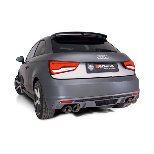 Audi S1 - Remus Exhaust System