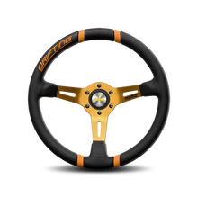 Load image into Gallery viewer, MOMO Drifting Steering Wheel yellow