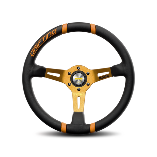 MOMO Drifting Steering Wheel yellow