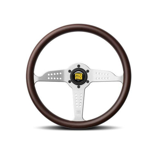 MOMO Grand Prix Steering Wheel mahogany wood